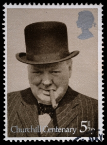 Wartime Leader Winston Churchill