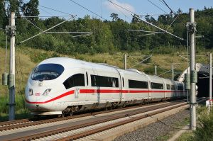 Germany's High Speed ICE train (Photo: Wikipedia)